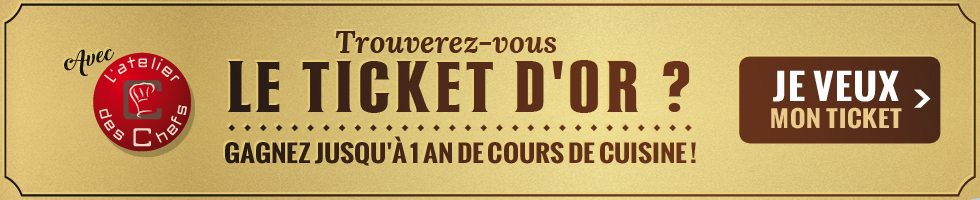 Ticket d'or!
