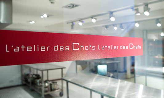 Private classes at L'atelier des chefs