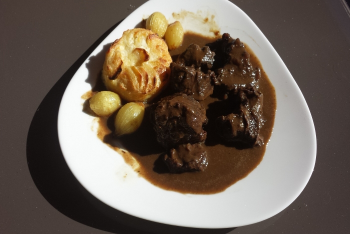 Boeuf bourguignon traditionnel
