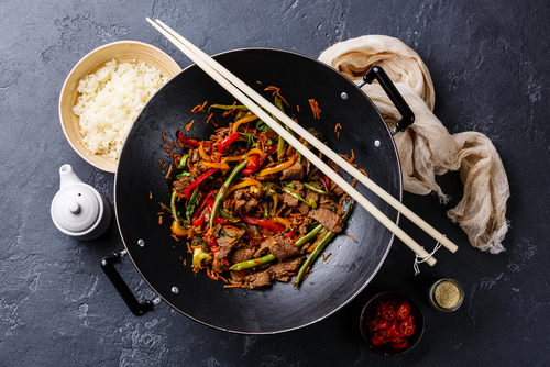Cours de cuisine - 30 minute cooking class - Wok up in our Street Food Concept