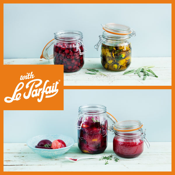 Cours de cuisine - Preserve your Fruits and Vegetables all year long with Le Parfait - Introduction to making Pickles and Preserves