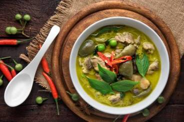Cours de cuisine - All the Green of Thailand