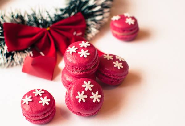 Cours de cuisine - 2 hour cooking class - 2H: Pastry - Christmas Macaroons