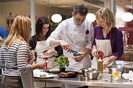 Book a cooking class