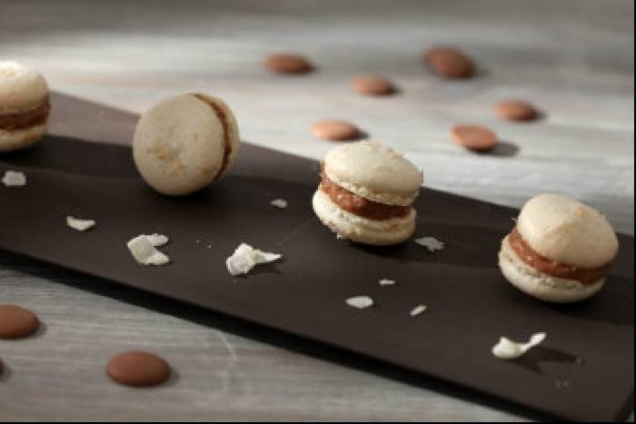recette en vid o macaron poire chocolat. Black Bedroom Furniture Sets. Home Design Ideas