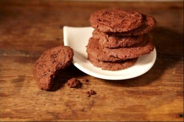 Recette de Biscuits croustillants chocolat gingembre
