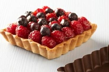 Raspberry and blueberry tartlets Recipe