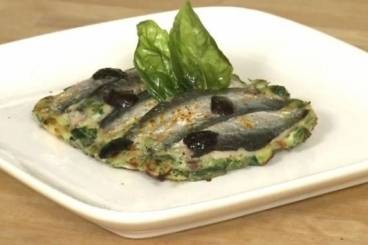Filets de sardine saisis au four, garniture
