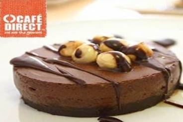 Cardamon chocolate mousse cake with amaretti biscuits and hazelnuts Recipe