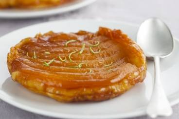 Caramelised mango tart tatin Recipe