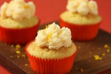 Orange scented cupcakes Recipe
