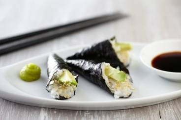 California style hand roll