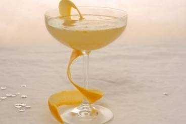 Buck's fizz with Grand Marnier