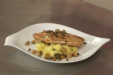 Skate wings with capers Recipe