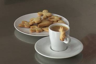 Cinnamon biscuits for coffee Recipe