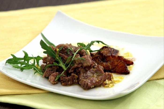 Recette de Salade de queue de boeuf, gingembre et orange