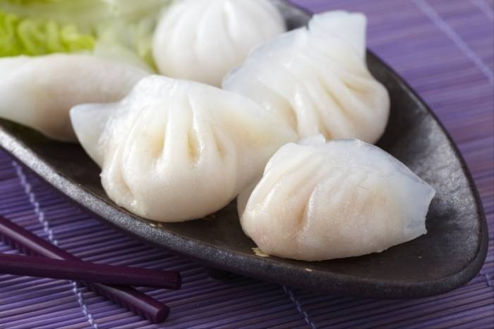 Chinese dumplings with pork and ginger Recipe