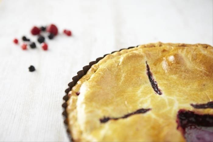 Recette de Apple pie aux fruits rouges
