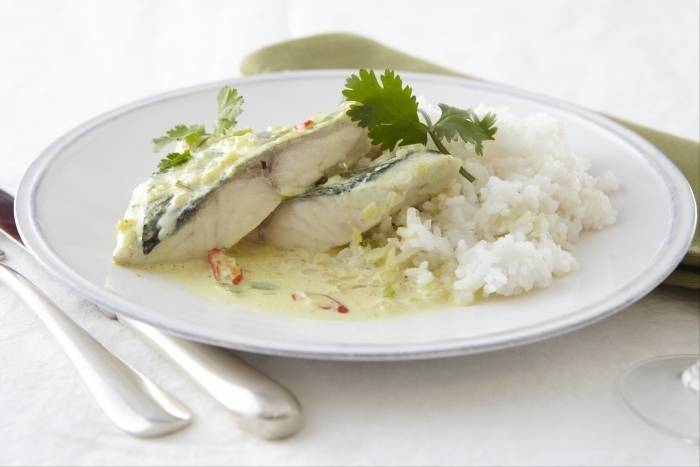 Indonesian fish curry with coconut milk Recipe