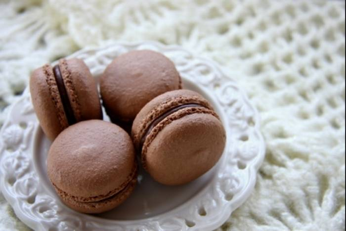 recette de macaron sucre cuit chocolat orange facile et rapide. Black Bedroom Furniture Sets. Home Design Ideas