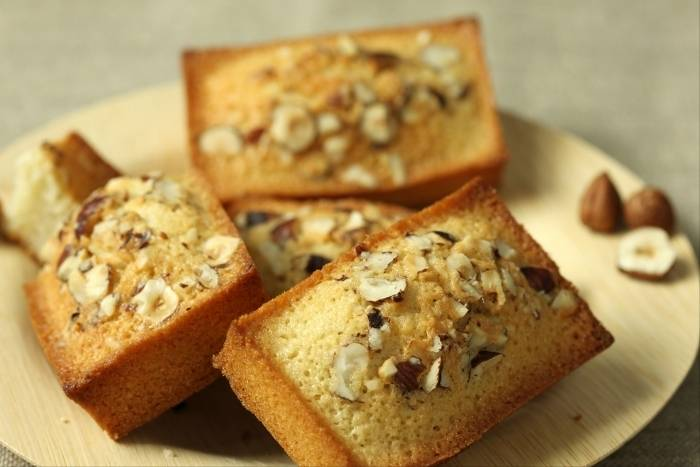 Hazelnut and cracked black pepper financier Recipe