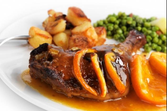 Recette de Canard à l'orange express