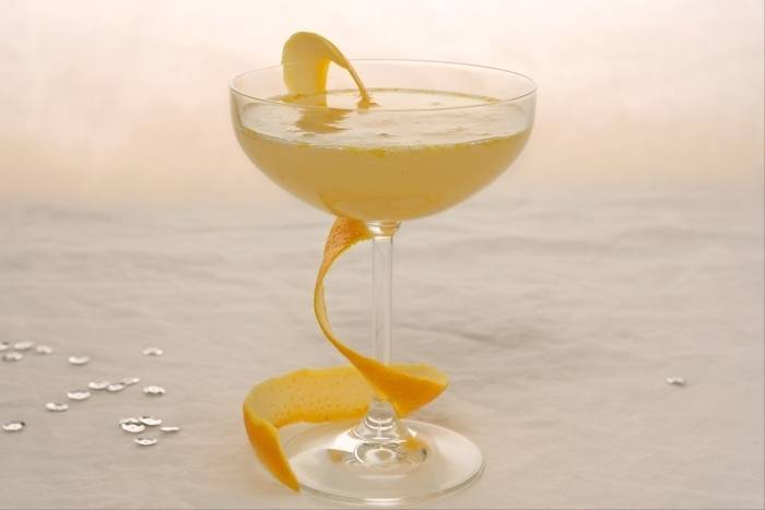 Recette de Cocktail orange-champagne