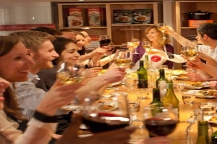 Cooking class theme Food & Wine Pairings