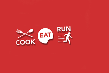Cooking class theme Cook, Eat... & Run!